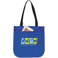 Atchison Oval Texture Non-Woven Promotional Tote Bag