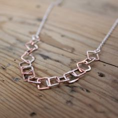 Beautiful copper and silver splatter chain had arrived!!
