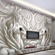 Home Improvement Self-Conscious Large Geometry Abstract 3d Wall Murals Wallpaper For Sofa Background Living Room 3d Papel Murals Wall Paper 3d Wall Stickers