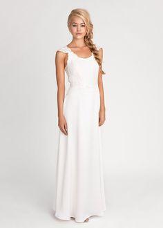 Wallende Kleider, Blumen im Haar und eine entspannte Atmosphäre - 'Boho' gehört zu den wichtigsten Hochzeitstrends des Jahres. Kein Wunder also...