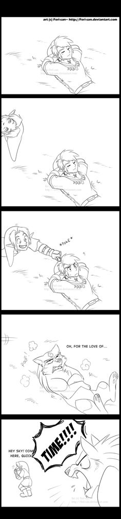 Some Habits Die Hard - 1 by Feri-san.deviantart.com  Leah; I have GOT to see this guys stuff!! XD