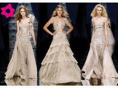Vestidos de noiva com detalhes em renda