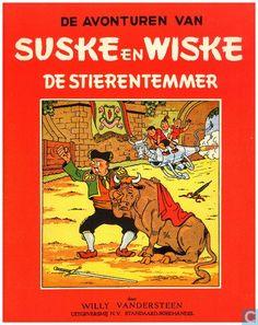 Strips - Suske en Wiske - De stierentemmer