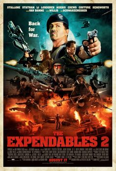 The Expendables 2 in theaters August 17th. #Expendables2