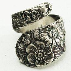 Antique spoon ring