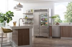 Your kitchen is where life happens. Where you share food, drink, conversations and confessions with the people you love. Why not make your kitchen the best it can be? Owning Sub-Zero and Wolf appliances assures that your food will always stay as fresh and flavorful as possible, and