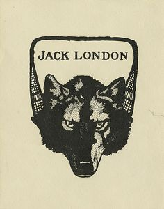 [Bookplate of Jack London] by Pratt Libraries, via Flickr