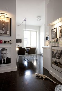 Interior home design decorating before and after decorating interior designs Interior Design Living Room, Modern Interior, Interior And Exterior, Interior Decorating, Decorating Ideas, Home Design, Wall Design, Sweet Home, Black And White Interior