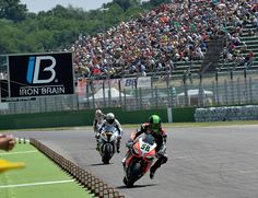 Imola races - Eugene Laverty.  At the end of a difficult and more than a bit unlucky weekend the Aprilia Racing Team leaves the Imola round with two podiums (Laverty third in Race 1 and Guintoli third in Race 2) as well as the leadership in the world Manufacturer championship. Discover more!