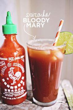 6 Sriracha Recipes For Spicy Food Lovers: Sriracha Bloody Marys