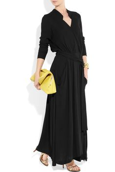 JAY AHR  Turbolento crepe maxi dress   - Everyone. I just got some new shoes and a nice dress from here for CHEAP! Check out the amazing sale. http://www.superspringsales.com