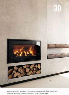 3d Interior Design, richmond log burners