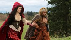 """Red Ridding Hood & Grandma in Once Upon a Time  """"An Apple Red as Blood"""" on ABC"""