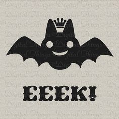 Hey, I found this really awesome Etsy listing at https://www.etsy.com/listing/110130829/halloween-cute-bat-crown-printable
