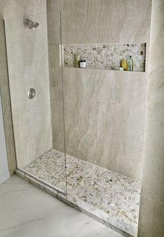 Bathroom Design Small, Bathroom Interior Design, Small Bathroom Ideas, Shower Remodel, Bath Remodel, Master Bathroom Shower, Bathroom Inspiration, Wall Tile, Backsplash Tile