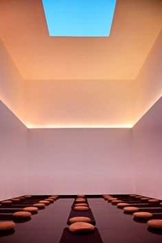 famed for his awe inducing \'skyspaces\', designboom takes a look at one of turrell\'s most well loved installations in beijing\'s temple of wisdom.