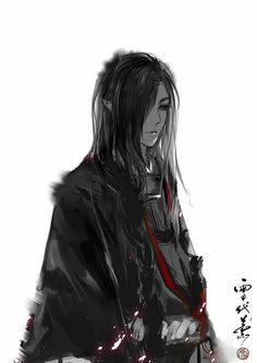 DeviantArt is the world's largest online social community for artists and art enthusiasts, allowing people to connect through the creation and sharing of art. Fantasy Art Men, Fantasy Concept Art, Flame In The Mist, Samurai Concept, Asia Ray, Boys Long Hairstyles, Pretty Men, Anime Artwork, Ancient Art
