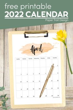 Print one or print all of the 2022 watercolor calendar pages from January to December. Bookmark the page and come back each time you need a calendar page. Printable Yearly Calendar, Free Printable Calendar Templates, Printable Planner Pages, Calendar Pages, Free Printables, Watercolor Design, Watercolor Paper, Paper Trail, Weekly Planner