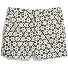 MADEWELL Tailored Shorts in Modflower (2.910 RUB) ❤ liked on Polyvore featuring shorts, bottoms, pants, short, true black, short shorts, tailored shorts, floral shorts, graphic shorts and cut off shorts