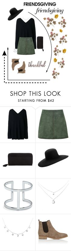"""""""friends+thanksgiving="""" by gmarieellis ❤ liked on Polyvore featuring STELLA McCARTNEY, George J. Love, Tusk, Maison Michel, Vince Camuto, Barneys New York, Fall, NightOut, women and friendsgiving"""