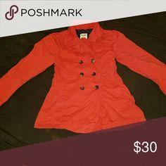 Spotted while shopping on Poshmark: Girls Dark  Orange Dress Coat! #poshmark #fashion #shopping #style #Old Navy #Other