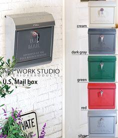 【楽天市場】インテリア> 玄関・エントランス> U.S.MAILBOX ポスト 郵便ポスト 郵便受け メールボックス:carro(デザイン雑貨カロ)