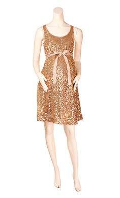 Isabella Oliver  $129.00  Size Small  New with Tags  Gold Sequin with Ribbon Tie