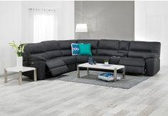 Fabric Corner Lounges | Super Amart