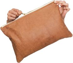 inspiration for a DIY thats brewing • american apparel clutch