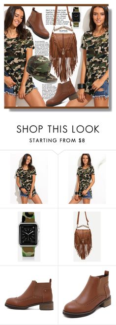 """""""Camouflage"""" by jenny007-281 ❤ liked on Polyvore featuring Casetify"""