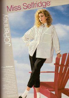 1987 Miss Selfridge JC Penney Store Retro Print Ad Vintage Advertisemetn VTG 80s | eBay