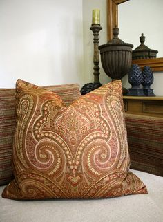 The Mughal Collection offers beautiful jacquard designs and a fabulous pinstripe chenille. The colour palette runs the spectrum from vibrant contemporary . Living Rooms, Fabrics, Vibrant, Throw Pillows, Contemporary, Unique, Color, Beautiful, Design