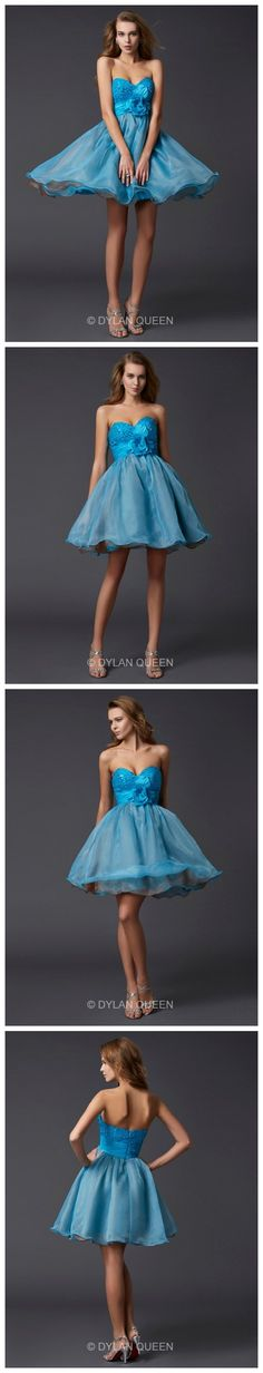 Nice A Princess Sweetheart Paillette Sleeveless  Mini Taffeta Prom Dresses.