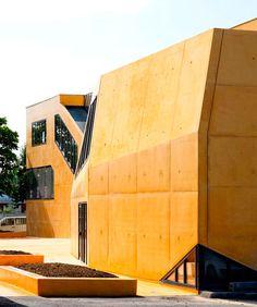 Apprentice Formation Center, Saint Maur des Fossés, France | Air Architects