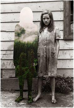 Collage retro vintage