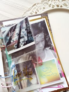 """Mini album """" be you"""" { inside pages} by DT member Jaz Lee."""