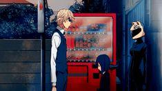 Shizuo. Durarara!! All Anime, Anime Guys, Anime Art, Heart Warming Quotes, Shizaya, Funny Scenes, Durarara, Shinigami, Childhood Friends