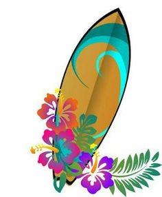 Bad food clipart from Colmar Cliparts. Clip art is a great way to help illustrate your diagrams and flowcharts. Hibiscus Flowers, Tropical Flowers, Art Floral, Surf Vintage, Surfboard Painting, Surfboard Decor, Hawaiian Art, Moana Party, Moana Birthday