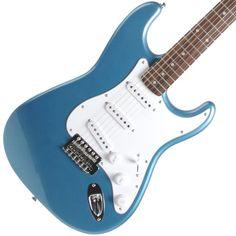 Fender Squier Affinity Stratocaster Blue | Available at Garrett Park Guitars | www.gpguitars.com
