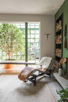 Open House Bruna Lucchesi | Casa de Valentina Gazebo, Sala Grande, Open House, House Tours, Living Room Designs, Sweet Home, Windows, Interior Design, Architecture