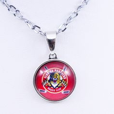 Necklaces Pendants NHL Florida Panthers Charms Ice Hockey Team Women Necklace for Girls Gifts Party Birthday Fashion 2017 #HockeyGifts