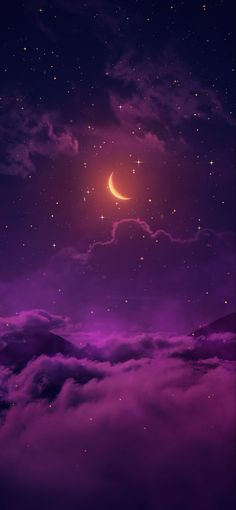 Night Sky Wallpaper, Cute Pastel Wallpaper, Funny Phone Wallpaper, Homescreen Wallpaper, Iphone Background Wallpaper, Purple Wallpaper, Galaxy Wallpaper, Aesthetic Backgrounds, Aesthetic Wallpapers