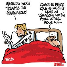 Emmanuel Macron : un président urticant !
