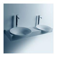 Plan vasque solid surface Réf : SDWD3888