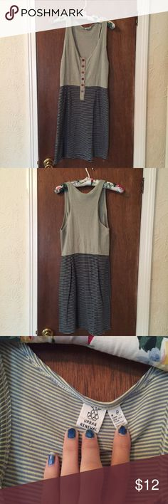 Button Down Dress This dress is super comfy and in great condition. Size medium, true to size. Urban Outfitters Dresses Midi