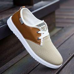 official photos de574 49a7f Hot Sale Men Summer Shoes Breathable Male Casual Shoes
