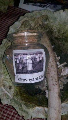 Graveyard dirt Voodoo Hoodoo Conjure by HonoringMotherEarth, $6.50