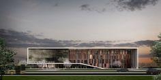 kolokyum.com - Galeri: Eşdeğer Mansiyon - Kayseri Ticaret Odası Hizmet Binası Ulusal Mimari Fikir Yarışması