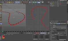 set a dynamic and flexible dotted lines in cinema 4d tutorial + preset on Vimeo #C4D,#Cinema 4D,#tutorial