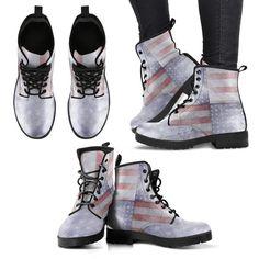 USA Flag Boots V3 W